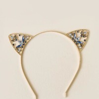 Aurora Embellished Cat Ears