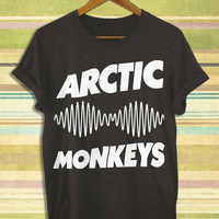 Screenprint funny popular shirt on etsy arctic monkeys for t shirt mens, t shirt woman available size by RnhKaos
