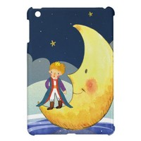 The Little Prince Standing on the Moon Cover For The iPad Mini from Zazzle.com