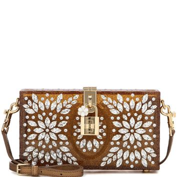 Dolce Taormina embellished box clutch