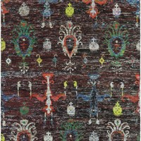Chocho Area Rug Black