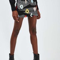 Freerider Print Mini Skirt - New In This Week - New In