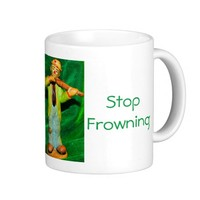 Just Clowning Stop Frowning Coffee Mug