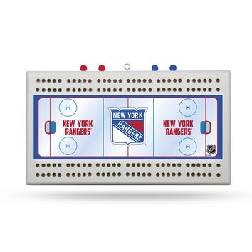 NEW YORK RANGERS FIELD CRIBBAGE BOARD