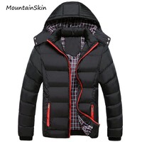 Men Warm Winter Jacket / Fashionable Thick Thermal Casual Men Clothing
