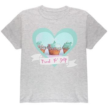 Treat Yo Self Cupcakes Youth T Shirt