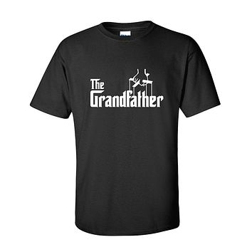 Grandfather Fathers Day Gift Grandpa Movie Graphic Novelty Funny T Shirt