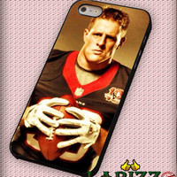 "Jj Watt Houston Texans 2 for iphone 4/4s/5/5s/5c/6/6+, Samsung S3/S4/S5/S6, iPad 2/3/4/Air/Mini, iPod 4/5, Samsung Note 3/4 Case ""007"""