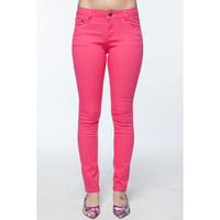 paradox - bright colored stretchy skinny jeans