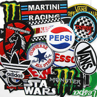 Mixed Brand Logo Iron On Patch Sew Embroidered Wholesale Lot of 25 Hat Shirt DIY