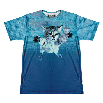 Nirvana Cat Men's Tee