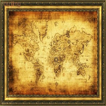 Best Old World Map Poster Products on Wanelo