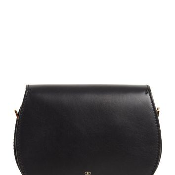 Valentino My Rockstud black leather shoulder bag