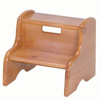 Little Colorado 105WDHO Honey Oak Wooden Step Stool