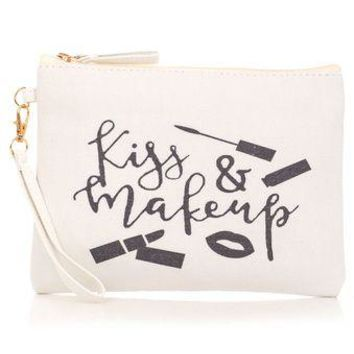 Pucker Up Cosmetic Bag
