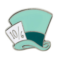 Loungefly Disney Alice In Wonderland Mad Hatter Hat Enamel Pin