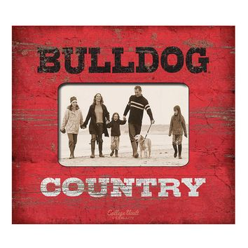 Legacy Athletic Georgia Bulldogs ''Country'' 4'' x 6'' Photo Frame (Red)