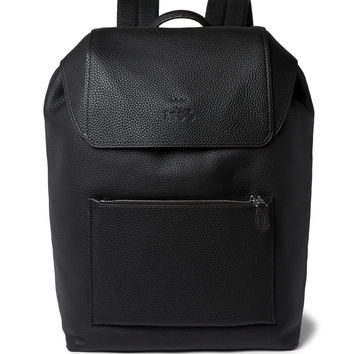 Coach - Pebble-Grain Leather Backpack | MR PORTER