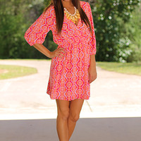 Desert Mirage Dress, Pink
