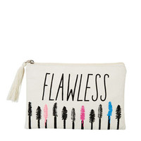 Flawless Canvas Makeup Bag