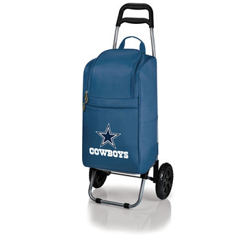 Dallas Cowboys - Cart Cooler with Trolley (Navy)
