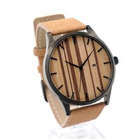 Wood Face Watch