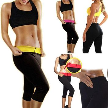 CREYUG3 New Fashion Women Hot Neoprene Body Shaper  Lose Fat  Slimming Waist Pants Slim Belt Yoga Clothes = 1932538436