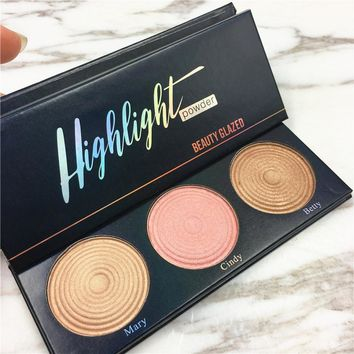 2017 The beauty glazed Manizer Bronzers  Highlighters the Makeup illuminator Highlight hoola bronzer balm glow kit Wet Set