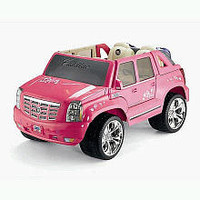 Power Wheels Fisher-Price Barbie Cadillac Hybrid Escalade EXT - Pink