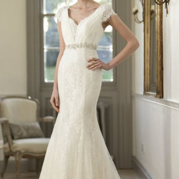 tb-willow-s Tulle & Lace Bridal Gown