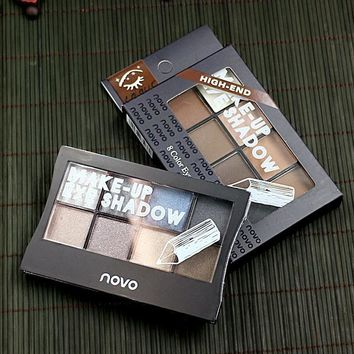 Matt Eye Shadow Waterproof Eyebrow Color [11489270156]
