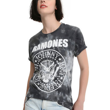 The Ramones Tie Dye Seal Girls T-Shirt