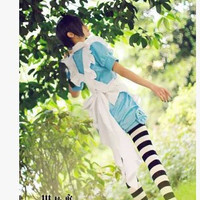 Kuroshitsuji Ciel Phantomhive anime Maid uniform cosplay costume halloween  costumes new hot sell