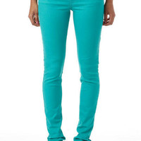 Olivia Color Jegging Peacock Green