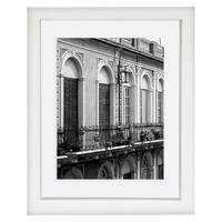 Single Image Frame 6X8 White Single Mat