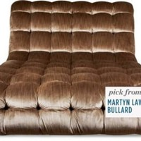 One Kings Lane - Get the Look - Oversized Tufted Chaise Longue