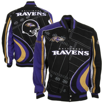 Baltimore Ravens Big Play Jacket - Black