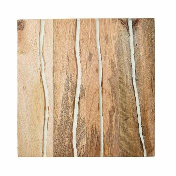 Fragment Placements in Natural - Set Of 4