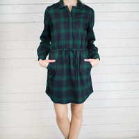 Juniper Flannel Dress
