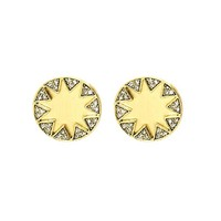 House of Harlow 1960 Jewelry Earth Metal Sunburst Earrings - Gold