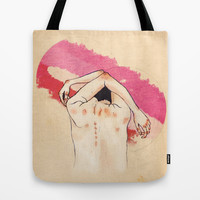 lionheart Tote Bag by hannahclairehughes