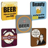 Men's Drink Coasters - Set of 5