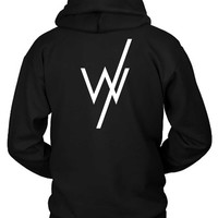 Sleeping With Sirens W Logo Hoodie Two Sided