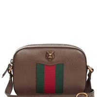 Animalier grained-leather cross-body bag | Gucci | MATCHESFASHION.COM US