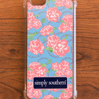 Simply Southern Roses iPhone Case