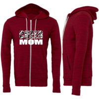 Cheer Mom Zipper Hoodie