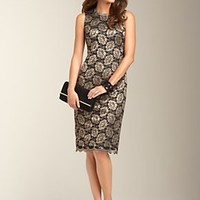 Talbots - Gilded Lace Sheath | Dresses | Misses