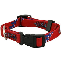 Texas Rangers Dog Collar - Medium