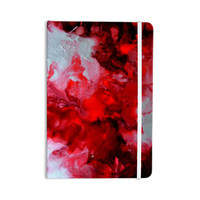 "Claire Day ""Simmer"" Red White Everything Notebook"