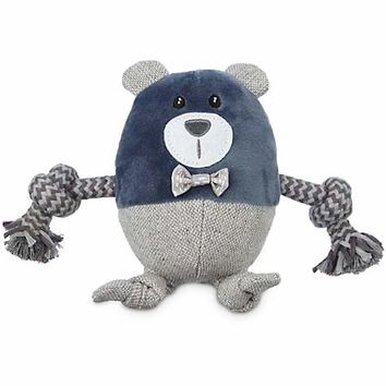 Leaps & Bounds Wildlife Plush and Rope Bear Dog Toy | Petco